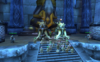 Teacher Gnomes in Ironforge