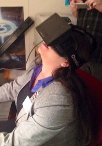 Flying through space with the Oculus Rift